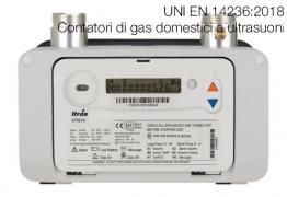UNI EN 14236:2018 | Contatori di gas domestici a ultrasuoni