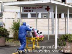 Emergenza Coronavirus, i contagi sul lavoro denunciati all'Inail