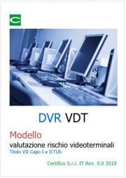 DVR VDT | Modello valutazione rischio Videoterminali