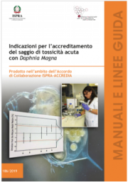 Accreditamento del saggio di tossicità acuta con Daphnia Magna