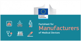 Factsheet for Manufacturers of Medical Devices