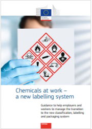 Chemicals at work a new labelling system