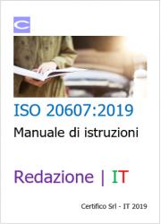 ISO 20607:2019 Redazione manuale di istruzioni