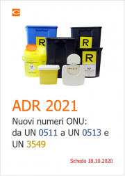 ADR 2021 | Nuovi numeri ONU