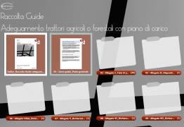 Adeguamento trattori: un portfolio raccolta schede adeguamento
