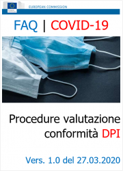 EU FAQ | COVID-19: Procedure di valutazione conformità DPI