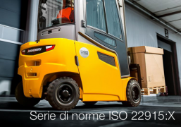 Serie di norme ISO 22915:X | Carrelli industriali - Verifica stabilità