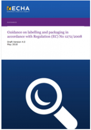 Guidance on labelling and packaging in accordance with CLP
