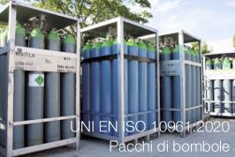 UNI EN ISO 10961:2020   Pacchi di bombole