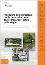 Procedura misurazione per determinazione idrocarburi totali nelle acque