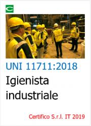UNI 11711:2018 | Igienista industriale