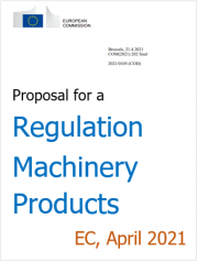 Proposal for a Regulation on machinery products