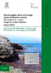 Monitoraggio microalga potenzialmente tossica Ostreopsis cf. ovata