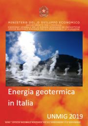 Energia geotermica in Italia UNMIG 2019