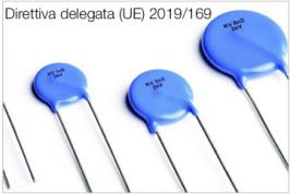 Direttiva delegata (UE) 2019/169 | Modifica All. III Direttiva ROHS II