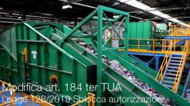 Modifica art. 184 ter TUA End of waste | Legge 128/2019