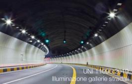 UNI 11095:2019   Illuminazione delle gallerie stradali