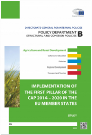 Implementation first pillar CAP 2014 - 2020 in the EU Member States