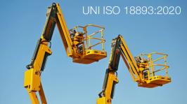 UNI ISO 18893:2020   Piattaforme di lavoro mobili elevabili
