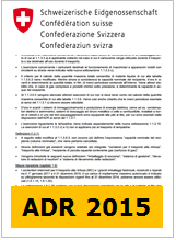 Commenti ADR 2015: In IT da USTRA (CH)
