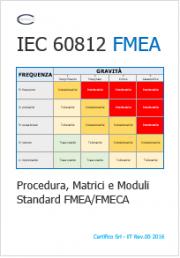 IEC 60812 Procedura, Matrici e Moduli Standard FMEA/FMECA