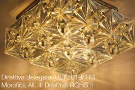 Direttiva delegata (UE) 2019/174 | Modifica All. III Direttiva ROHS II
