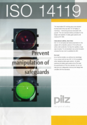 EN ISO 14119:2013 Technical Articles - PILZ