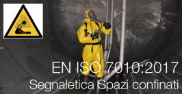 I segnali UNI e UNI EN ISO per gli ambienti confinati