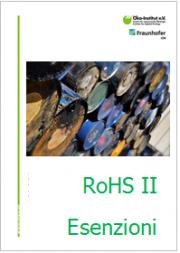 Guida per le esenzioni a norma dall'Articolo 5(8) della Direttiva RoHS
