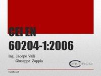 EN 60204-1 e norme correlate