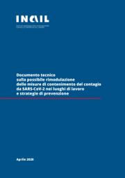 Documento tecnico INAIL rimodulazione misure SARS-CoV-2 nei luoghi di lavoro