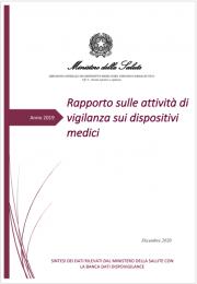 Rapporto attività di vigilanza sui dispositivi medici Ed. 2020/1