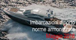 Norme armonizzate Direttiva Imbarcazioni diporto Maggio 2016