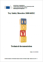 Technical documentation of Directive 2009/48/EC on the Safety Toys  - Rev. 1.5 2016