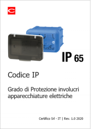 Gradi di Protezione degli involucri - Codice IP