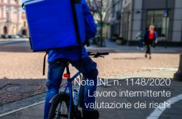 Nota INL n. 1148/2020 | Lavoro intermittente - Valutazione dei rischi