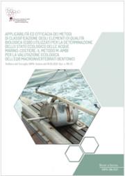 Acque marino-costiere applicabilità ed efficacia metodi di classificazione EQB