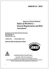 ANSI B11: Lo standards americano