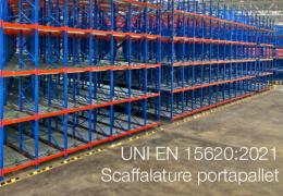 UNI EN 15620:2021 - Scaffalature portapallet
