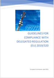 Guidelines for compliance with delegated regulation (EU) 2019/320