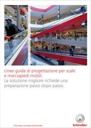 Linee guida progettazione scale e marciapiedi mobili