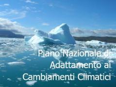 Piano Nazionale di Adattamento ai Cambiamenti Climatici