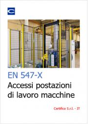 EN 547-X Aperture accesso corpo macchine