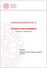 Gas compressi in bombole: Istruzione operativa