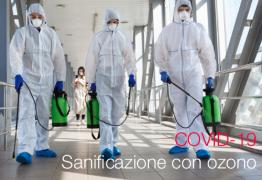 COVID -19 | Sanificazione con Ozono