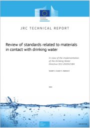 Revisione norme dei materiali a contatto con l'acqua potabile