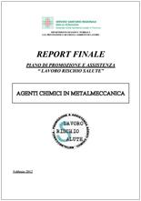 Agenti chimici in metalmeccanica - AUSL Piacenza