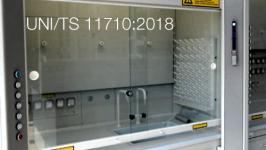 UNI/TS 11710:2018 -  Cappe per la manipolazione di sostanze chimiche