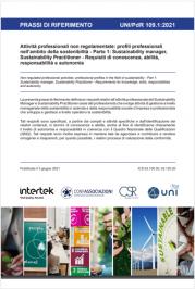 UNI/PdR 109: profili professionali nell'ambito della sostenibilità