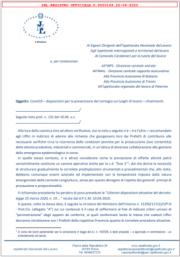 Nota INL n. 149 del 20 Aprile 2020